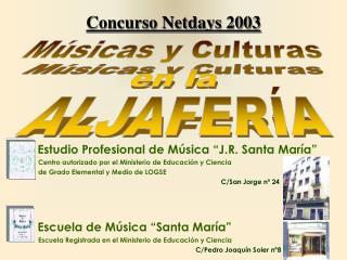 Concurso Netdays 2003