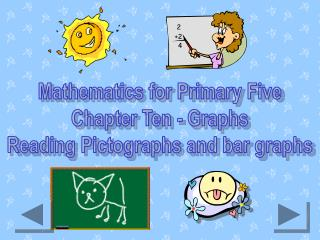 Mathematics for Primary Five Chapter Ten - Graphs Reading Pictographs and bar graphs