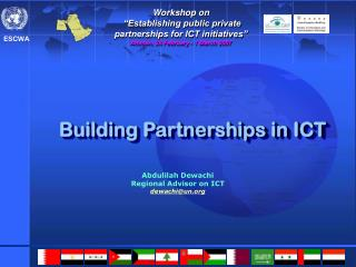 Building Partnerships in ICT
