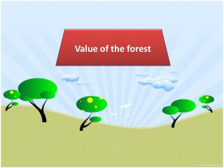 Value of the forest