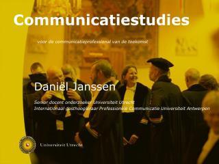 voor de communicatieprofessional van de toekomst