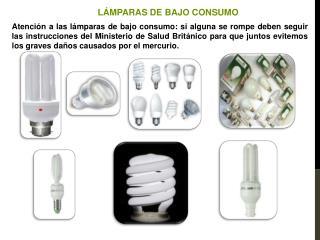 L�MPARAS DE BAJO CONSUMO