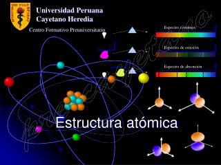 Estructura at�mica