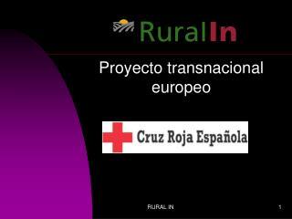 Proyecto transnacional europeo