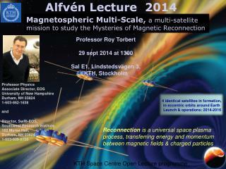 Alfvén  Lecture  2014