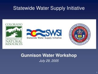 Statewide Water Supply Initiative