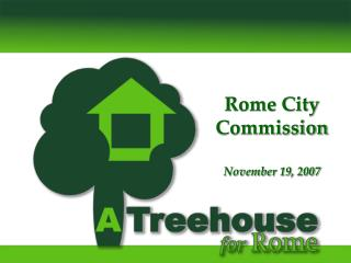 Rome City Commission November 19, 2007