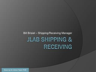 JLAB Shipping & Receiving