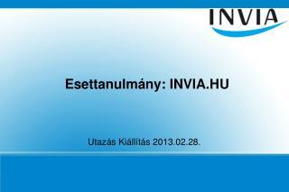 Esettanulmány: INVIA.HU