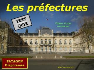 Les préfectures