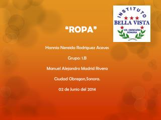 �ROPA�