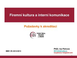 MMV ZS 2012/2013