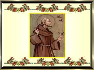 Pobre Francisco que da paz não desiste,