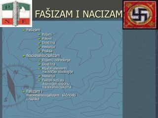 FAŠIZAM I NACIZAM