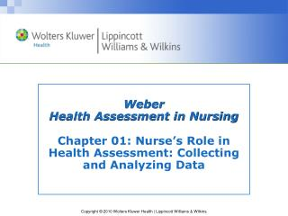 Weber Health Assessment in Nursing