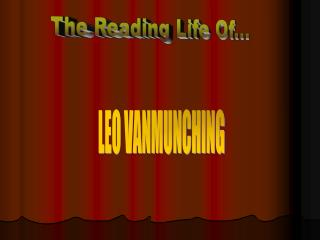 The Reading Life Of...