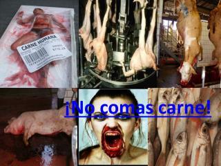 �No comas carne!