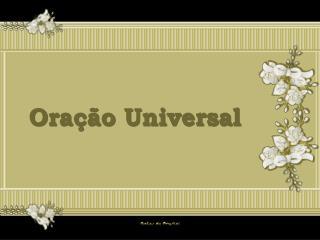 Ora��o Universal