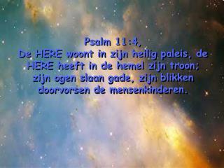 Hebr.11:6, maar zonder geloof is het onmogelijk (Hem) welgevallig te zijn.