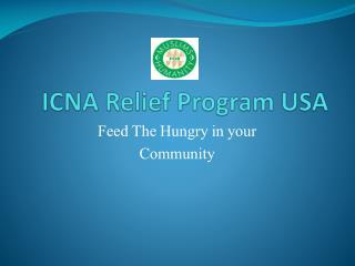 ICNA Relief Program USA