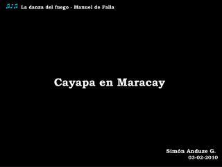 La danza del fuego - Manuel de Falla