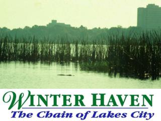 Winter Haven: The Chain of Lakes City   Making Water Quality ...