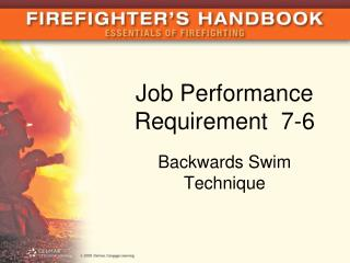 Job Performance Requirement  7-6