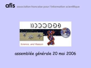 assemblée générale 20 mai 2006