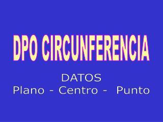 DPO CIRCUNFERENCIA