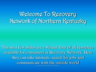 Welcome To Recovery Network of Northern Kentucky