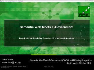 Semantic Web Meets E-Government