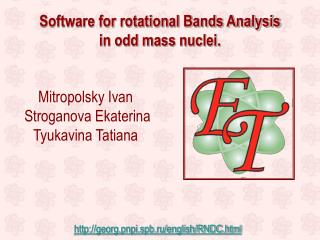 Software for rotational Bands Analysis  in odd mass nuclei.