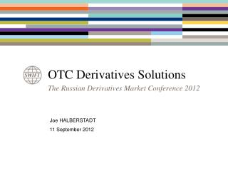 OTC Derivatives Solutions