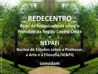 REDECENTRO Rede de Pesquisadores sobre o Professor da Região Centro-Oeste e NEPAFi