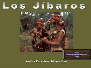 Audio:- Canción en idioma Shuar