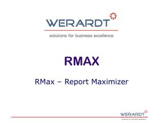 RMax � Report Maximizer