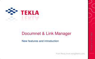 Documnet & Link Manager