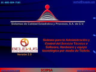 Sistemas de Calidad Estad�stica y Procesos, S.A. de C.V.