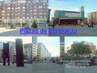 Plazas de Barakaldo