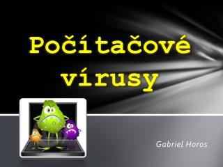 Počítačové vírusy