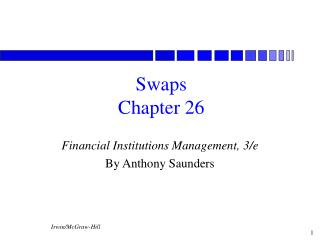 Swaps Chapter 26