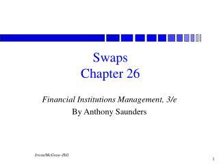 Swaps Chapter 26