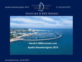 Herzlich Willkommen zum  Apella Messekongress 2010