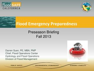 Flood Emergency Preparedness