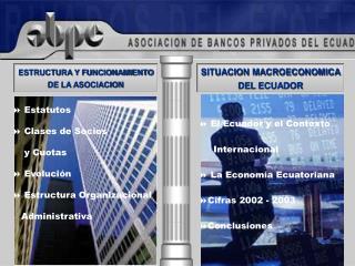 ESTRUCTURA Y FUNCIONAMIENTO DE LA ASOCIACION
