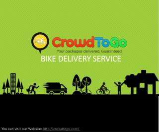 Bike delivery service blogspot