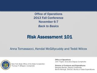 Risk Assessment 101
