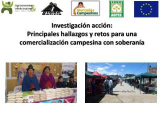 Grandes tendencias en los pa�ses andinos sobre seguridad y soberan�a alimentaria