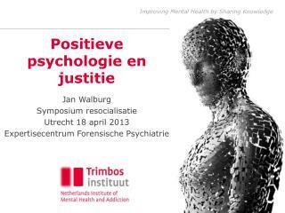Positieve psychologie en justitie