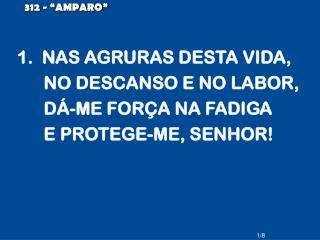 """312 - """"AMPARO"""""""